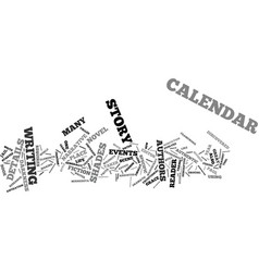 The details are in the calendar text background vector