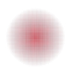 Abstract circle dotted background vector