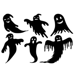 Of Different Ghosts vector image