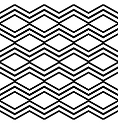 Contrast light geometric seamless pattern with vector
