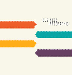 Infographic concept with option design vector