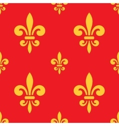 Royal lily pattern vector