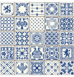 Traditional ceramic 05 vintage 2d vector