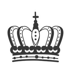 Roayl crown king vector
