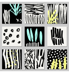 Abstract designs collection vector