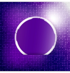 abstract background Circle blue vector image