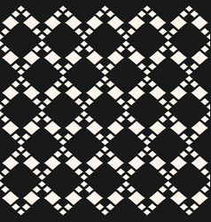 geometric seamless pattern with different vector image vector image