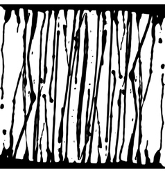ink spreads drops blots on a white vector image