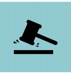 justice concept design vector image