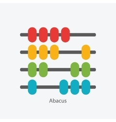 Abacus sign symbol icon vector