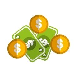 Money symbol icon vector