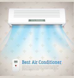 Best air conditioner vector