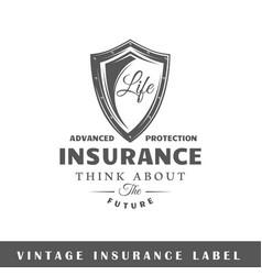 Insurance label vector