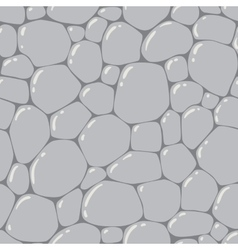 Seamless pattern or background of paving stones vector