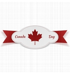 Festive graphic element for canada day vector