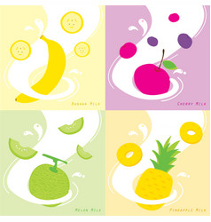 Apple art background design drink eat flavor vector