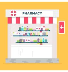 Pharmacy store vector