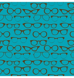 seamless glasses vector image
