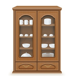 Cupboard 02 vector