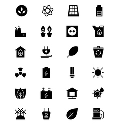 Ecology icons 1 vector