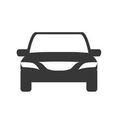 Car icon transportation machine design vector