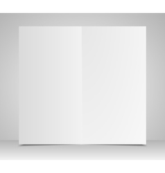 Paper Square Banner Mock Up vector image vector image