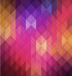 Spectrum retro geometric pattern vector