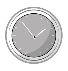 Time clock application icon vector