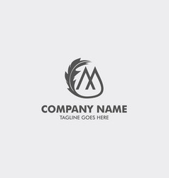 Unique attorney and law logo template vector
