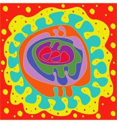 Abstraction embryo vector