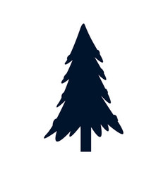 Christmas tree decoration festive winter ornament vector