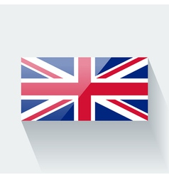 Flag of the UK vector image vector image