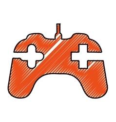 Game controller icon image vector