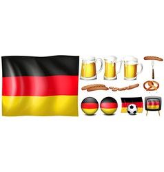 German set vector