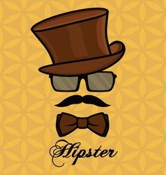 Hipster sa brkovima2 resize vector