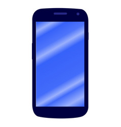isolated cellphone icon vector image