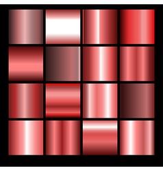 Red gradient backgrounds vector