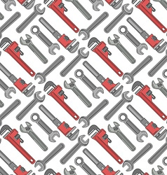 Wrenchs repeatable pattern for labor day style is vector