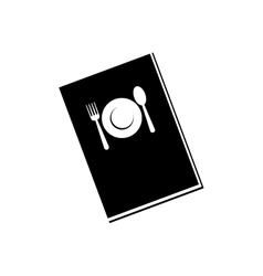 Restaurant menu book vector image