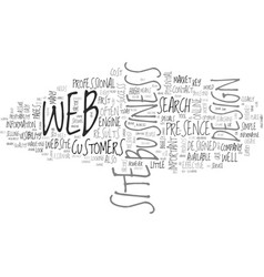 web design uk text word cloud concept vector image