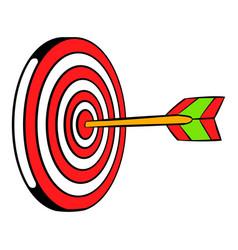 Target icon icon cartoon vector