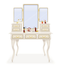 Vanity table 02 vector