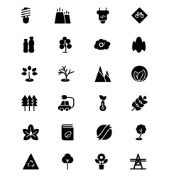 Ecology icons 3 vector