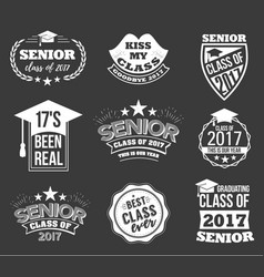 collection of logo badges and labels for vector image vector image