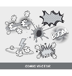 comic vector image