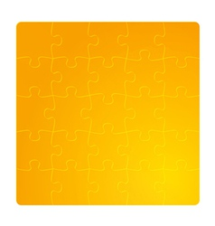 gradient gold field of puzzles vector image vector image