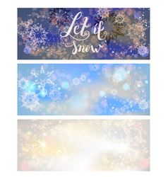 holiday greetings banners vector image vector image