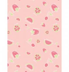 juicy fruit vector image