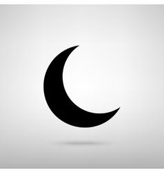 Moon sign vector