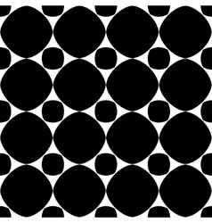Polka dot geometric seamless pattern 2303 vector image
